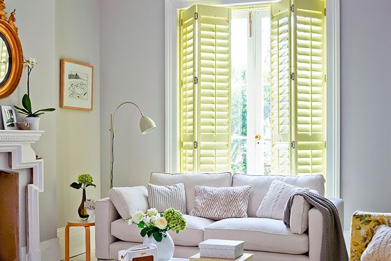 thumbnail: Living room shutters