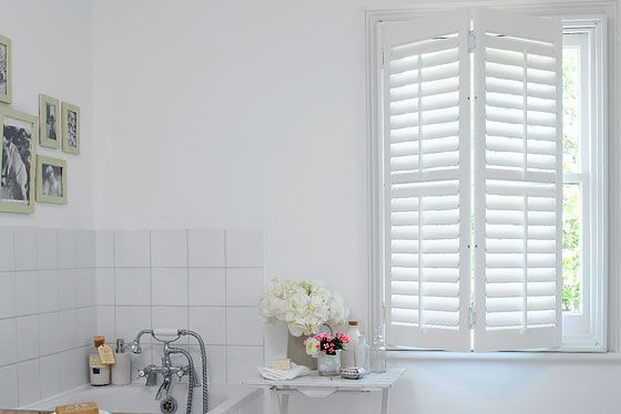 California shutters diy at b q Bathroom design perth uk