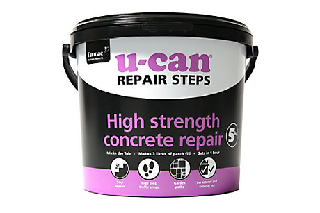 U-Can High Strength Concrete Repair Mortar