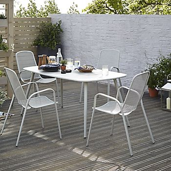 Dorsey garden furniture with decking