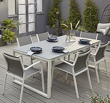 Riccia six seater dining set