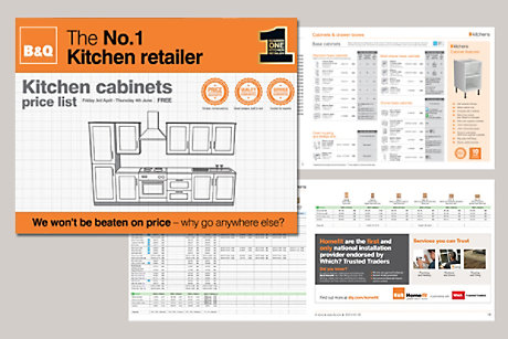 b q kitchen cabinets price list ireland home brochures diy at b amp q 10864