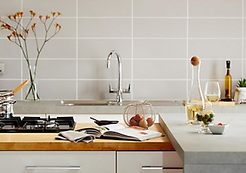 Kitchen tiles and grouting