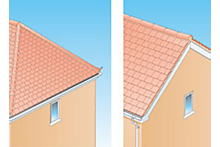 How to understand how a roof is built