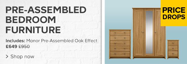 Pre-Assembled Bedroom Furniture