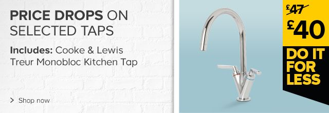 Price drops on selected taps