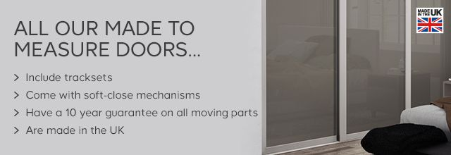 Information about our made to measure sliding wardrobe doors