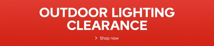 Outdoor lighting clearance