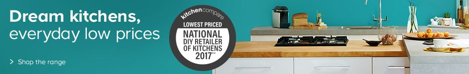 Dream kitchens, everyday low prices