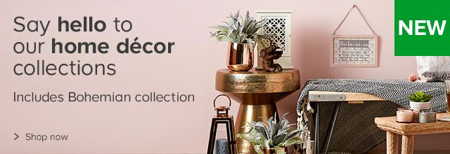 Say hello to our home decor collections