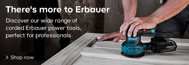 Discover our wide range of corded Erbauer power tools