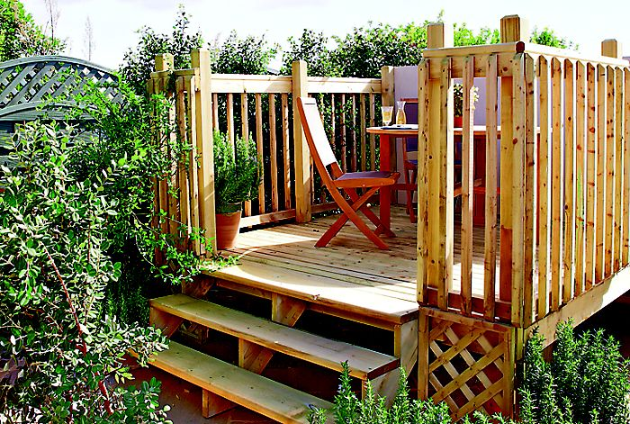 How To Build A Raised Deck Ideas Amp Advice Diy At B Amp Q