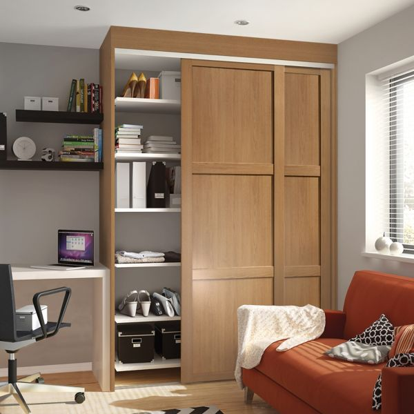 Sliding Wardrobe Doors & Kits | Bedroom Furniture | DIY at B&Q