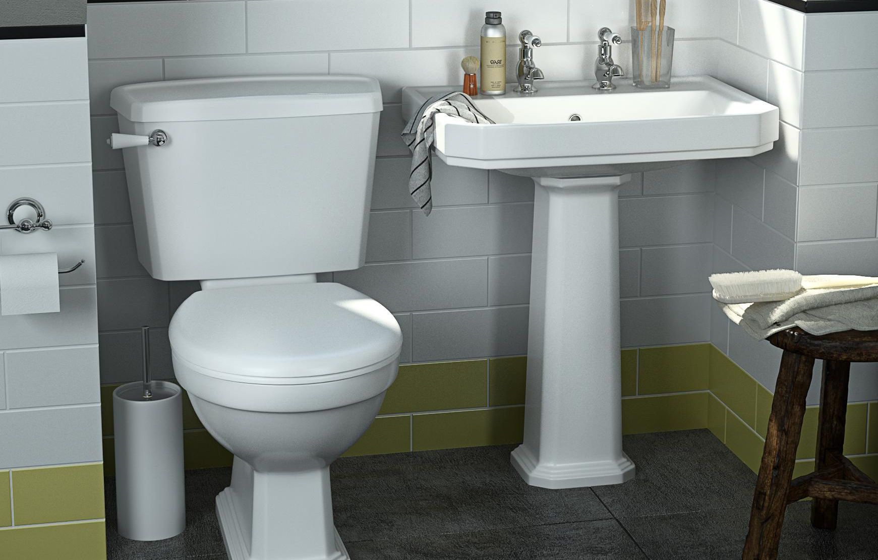 thumbnail: Serina Bathroom Toilet & Basin