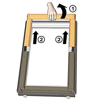 diagram of window frame