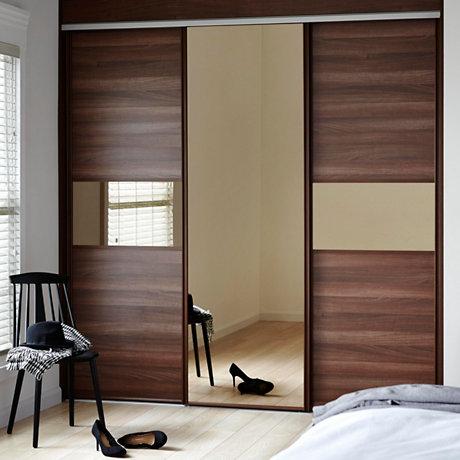 Single Sliding Wardrobe Doors & Sliding Wardrobe Doors | Sliding Doors | TradePoint