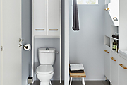 Design tips for a small bathroom