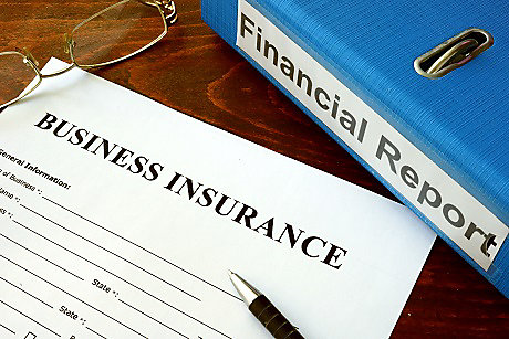 What are the main types of business insurance for small business?