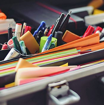 Mixture of stationery