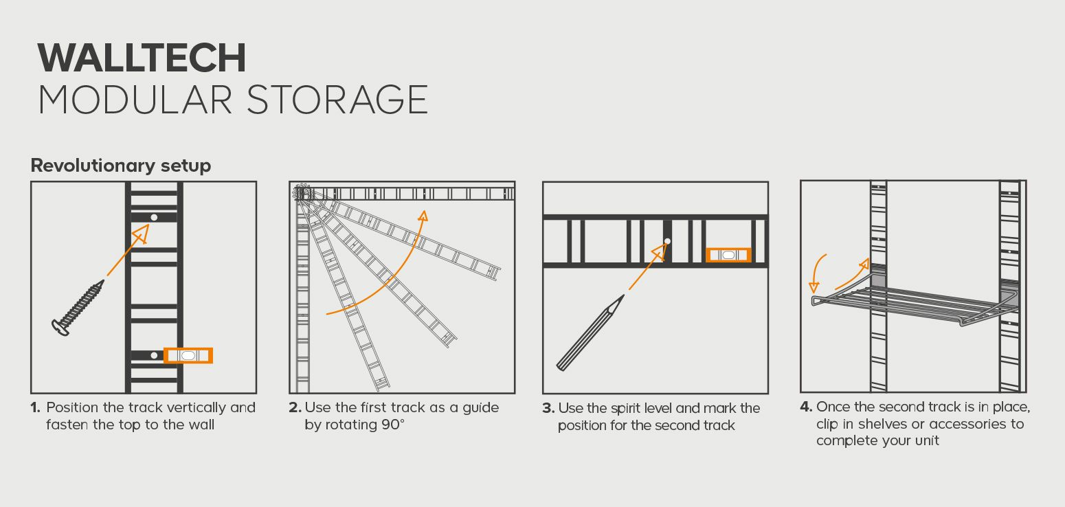 """How to use Walltech storage"""