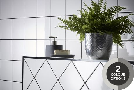 b and q wall tiles bathroom tiling ranges coloured black amp white tiles 24823