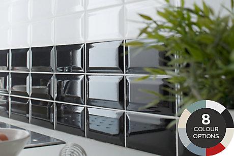 Tiling Ranges Coloured Black Amp White Tiles