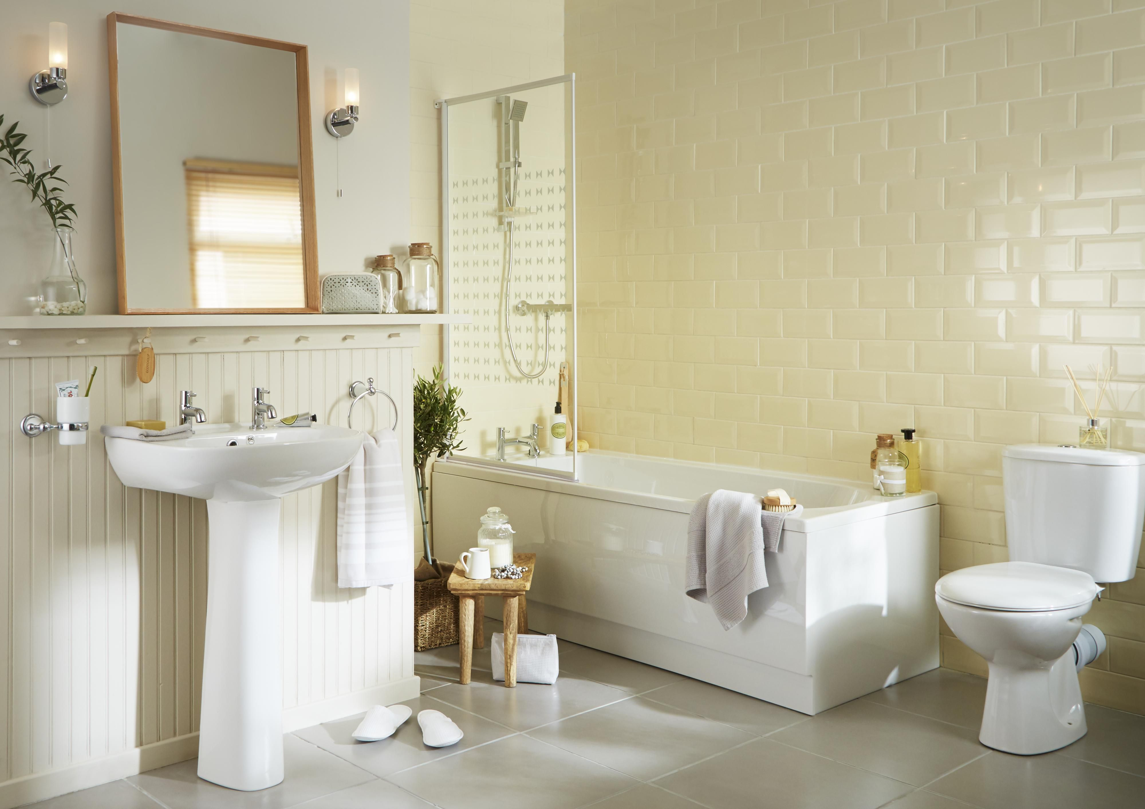 Plumbsure Truro. From £87 · Romsey Bathroom Suite