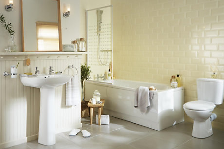 Plumbsure Truro Bathroom Suite