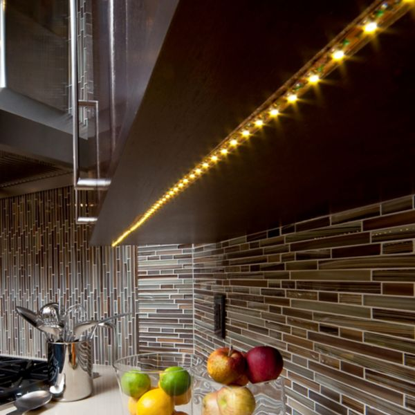 Kitchen lights kitchen ceiling lights spotlights diy at bq striplights aloadofball Gallery