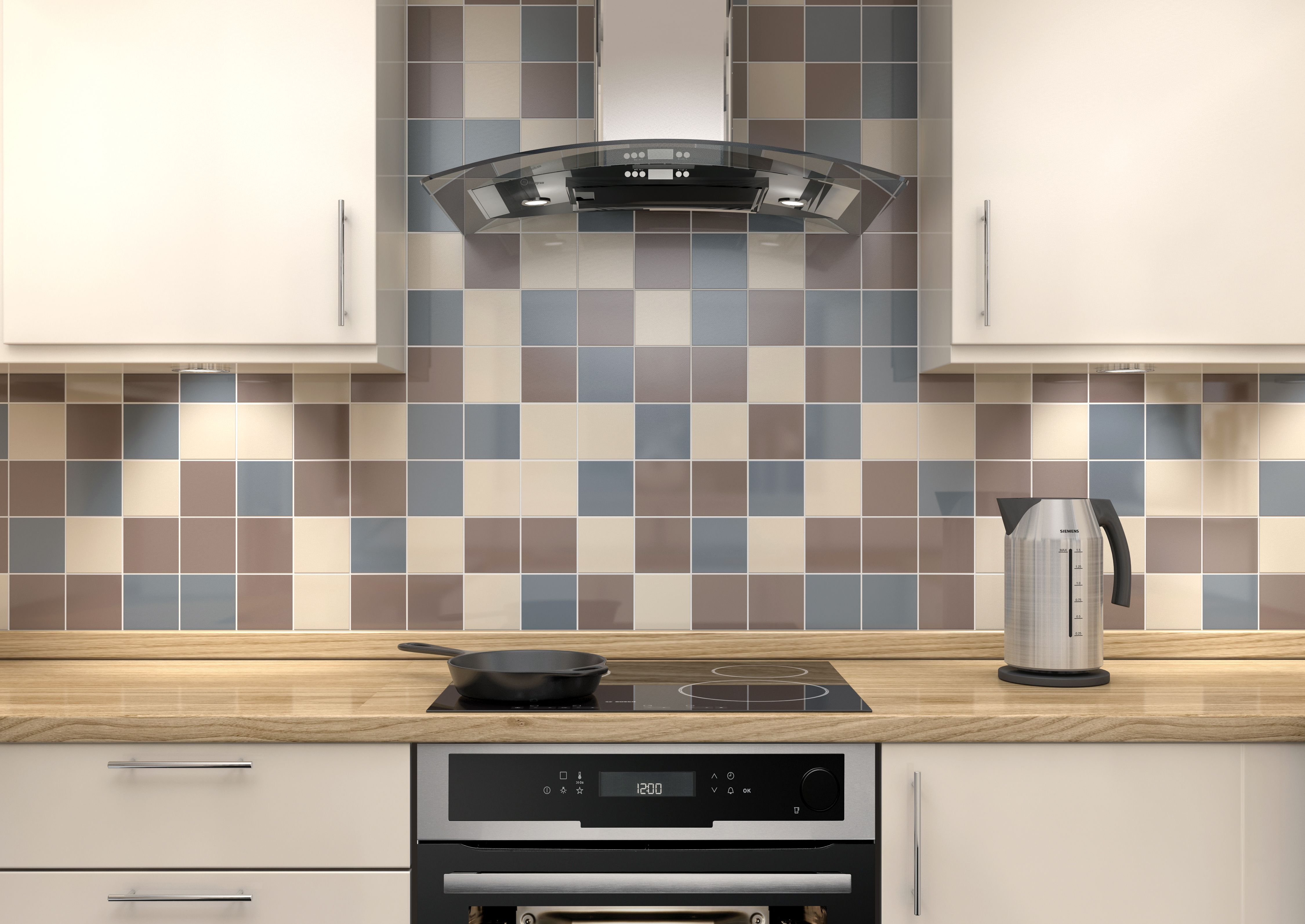 How to tile a wall & Tiles | Kitchen Tiles | DIY at Bu0026Q