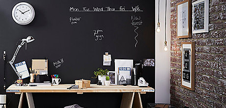 How to use craft, blackboard, and furniture paints