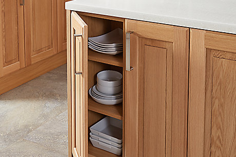 Chesterton oak kitchen