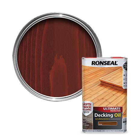 Price Drops On Selected Decking Oils And Stains