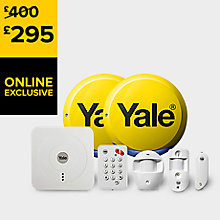YALE SMART ALARM KIT SR-330