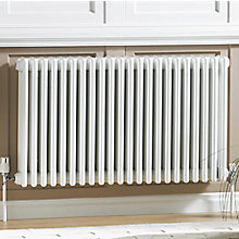 ACOVA 3 COLUMN RADIATOR, WHITE (W)812MM (H)600MM