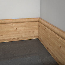 Price Drops On selected skirting and architrave Includes: Oak Veneered MDF Torus Skirting (T) 18mm (W) 119mm (L) 2400mm