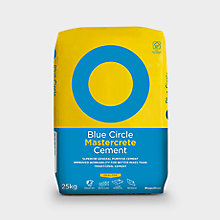 Cements and Concrete - Includes: 5 or more  for £4.37 on Blue Circle Mastercrete Cement 25kg bag. Individual Price: £6.78  each