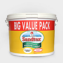 Sandtex 12L ultra smooth masonry paint