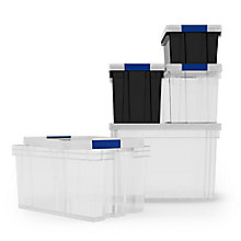 Declutter with our new range of storage boxes