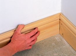 How to fit skirting board | Ideas & Advice | DIY at B&Q