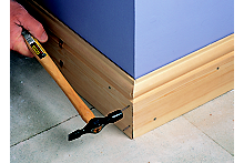 How to fit skirting board