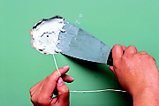 How to repair a house wall