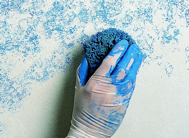How to create paint effects Ideas Advice DIY at BQ