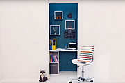 How to create a home office in a cupboard