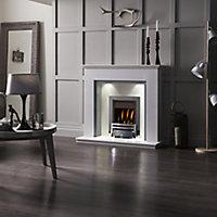Adam Adam Morella Grey & white Fireplace surround set