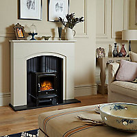 Adam Rotherham Stone effect Electric Stove