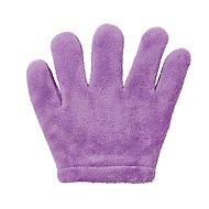 African violet Microfibre gloves