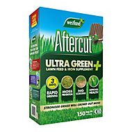 Aftercut Ultra green Lawn fertiliser 150m² 5.25kg