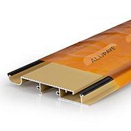 Alupave Sand Flat roof & decking board (L)3m (W)220mm (T)25mm