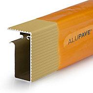 Alupave Sand Flat roof & decking Side trim (L)3m